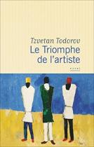 """Couverture du livre : """"Le triomphe de l'artiste"""""""