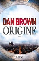 """Couverture du livre : """"Origine"""""""