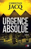 """Couverture du livre : """"Urgence absolue"""""""