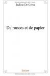 """Couverture du livre : """"De ronces et de papier"""""""