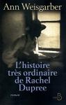 """Couverture du livre : """"L'histoire très ordinaire de Rachel Dupree"""""""