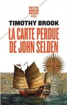 """Couverture du livre : """"La carte perdue de John Selden"""""""