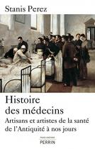 """Couverture du livre : """"Histoire des médecins"""""""