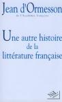 """Couverture du livre : """"Une autre histoire de la littérature française"""""""