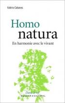 """Couverture du livre : """"Homo natura"""""""