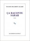 """Couverture du livre : """"Ça raconte Sarah"""""""