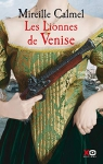 """Couverture du livre : """"Les lionnes de Venise"""""""
