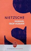 """Couverture du livre : """"Humain, trop humain"""""""