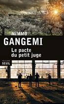 """Couverture du livre : """"Le pacte du petit juge"""""""
