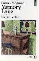 """Couverture du livre : """"Memory Lane"""""""