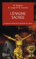 """Couverture du livre : """"L'énigme sacrée"""""""