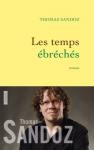 """Couverture du livre : """"Les temps ébréchés"""""""