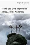 """Couverture du livre : """"Traité des trois imposteurs"""""""