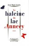"""Couverture du livre : """"La baleine du lac d'Annecy"""""""