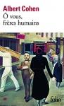 """Couverture du livre : """"Ô vous, frères humains"""""""