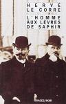 """Couverture du livre : """"L'homme aux lèvres de saphir"""""""