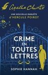 """Couverture du livre : """"Crime en toutes lettres"""""""