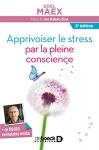 """Couverture du livre : """"Apprivoiser le stress par la pleine conscience"""""""