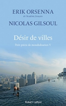 """Couverture du livre : """"Désir de villes"""""""