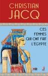 """Couverture du livre : """"Ces femmes qui ont fait l'Égypte"""""""