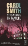 """Couverture du livre : """"Petits meurtres en famille"""""""