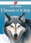 """Couverture du livre : """"L'homme et le loup"""""""