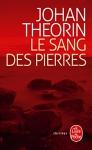 """Couverture du livre : """"Le sang des pierres"""""""