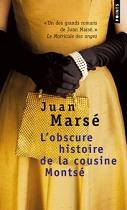 """Couverture du livre : """"L'obscure histoire de la cousine Montsé"""""""