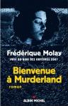 """Couverture du livre : """"Bienvenue à Murderland"""""""