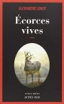"""Couverture du livre : """"Écorces vives"""""""