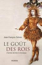 """Couverture du livre : """"Le goût des rois"""""""