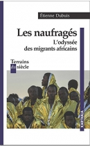 """Couverture du livre : """"Les naufragés"""""""
