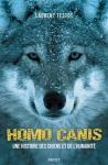 """Couverture du livre : """"Homo Canis"""""""
