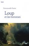 """Couverture du livre : """"Loup et les hommes"""""""