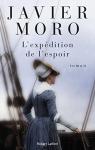"""Couverture du livre : """"L'expédition de l'espoir"""""""