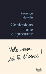 """Couverture du livre : """"Confessions d'une cleptomane"""""""