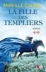 """Couverture du livre : """"La fille des templiers"""""""