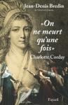 """Couverture du livre : """"On ne meurt qu'une fois"""""""