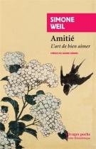 """Couverture du livre : """"Amitié"""""""