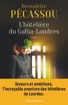 """Couverture du livre : """"L'hôtelière du Gallia-Londres"""""""