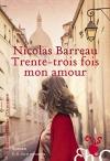 """Couverture du livre : """"Trente-trois fois mon amour"""""""