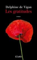 """Couverture du livre : """"Les gratitudes"""""""