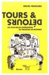 """Couverture du livre : """"Tours et détours"""""""