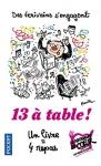 """Couverture du livre : """"Treize à table !"""""""
