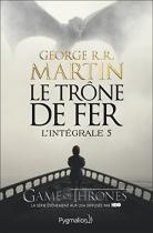 """Couverture du livre : """"Le trône de fer 5"""""""