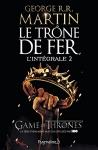 """Couverture du livre : """"Le trône de fer 2"""""""