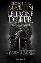 """Couverture du livre : """"Le trône de fer 1"""""""