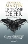 """Couverture du livre : """"Le trône de fer 4"""""""