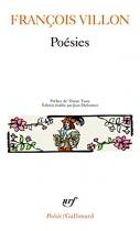 """Couverture du livre : """"Poésies"""""""