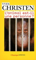 """Couverture du livre : """"L'animal est-il une personne ?"""""""